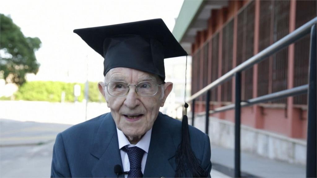 叫我第一名!義大利96歲最老大學生高分畢業