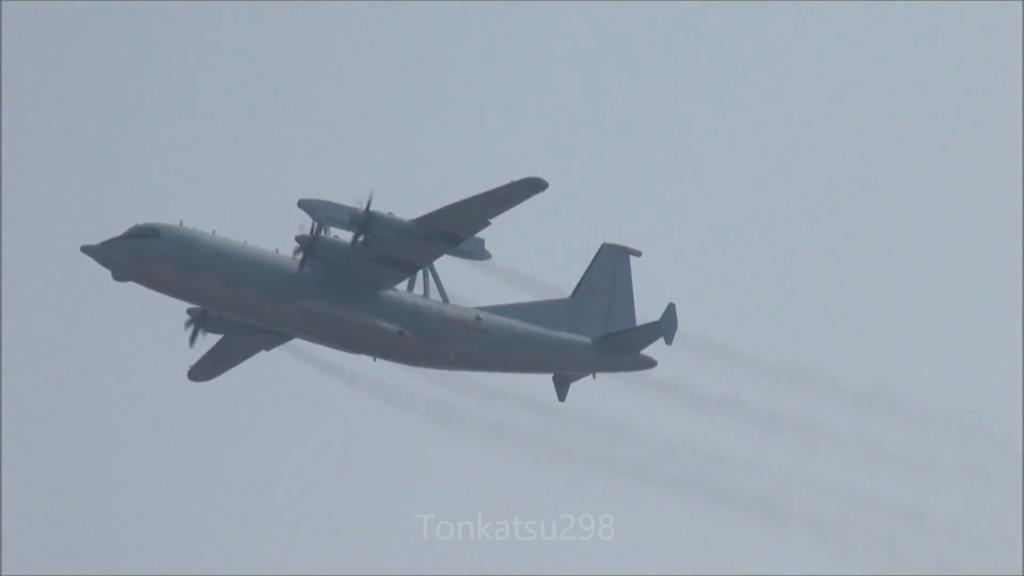 國慶日3架中國軍機 擾我西南海域IDF升空警戒廣播驅離