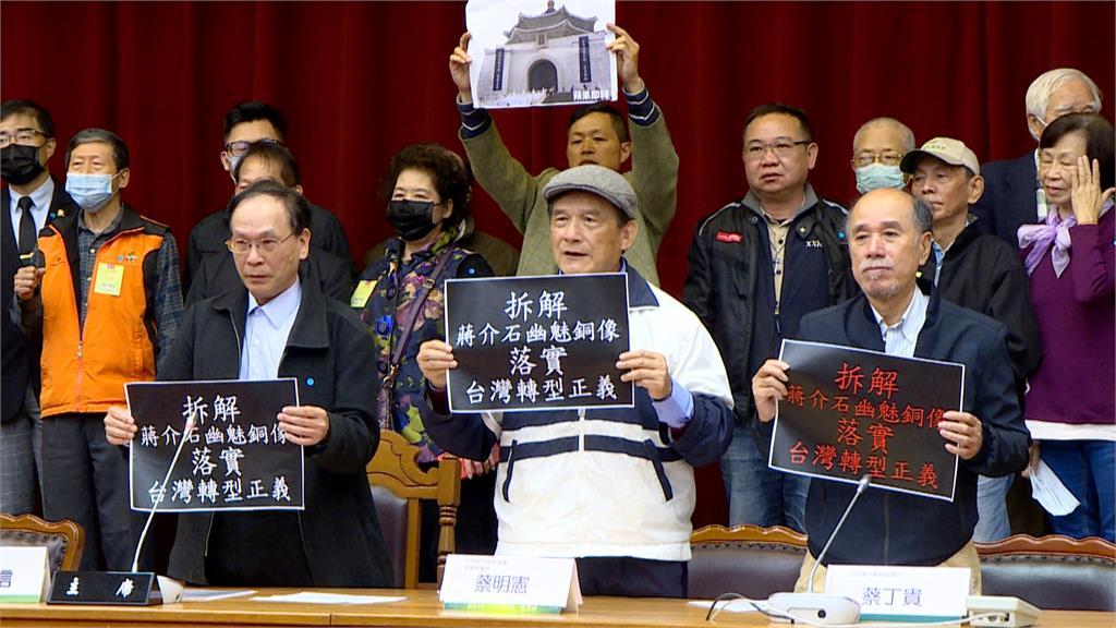 拒威權象徵 台派籲拆中正紀念堂蔣介石銅像