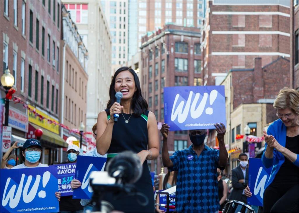 「台裔」吳弭參選波士頓市長 人氣高有機會改寫歷史