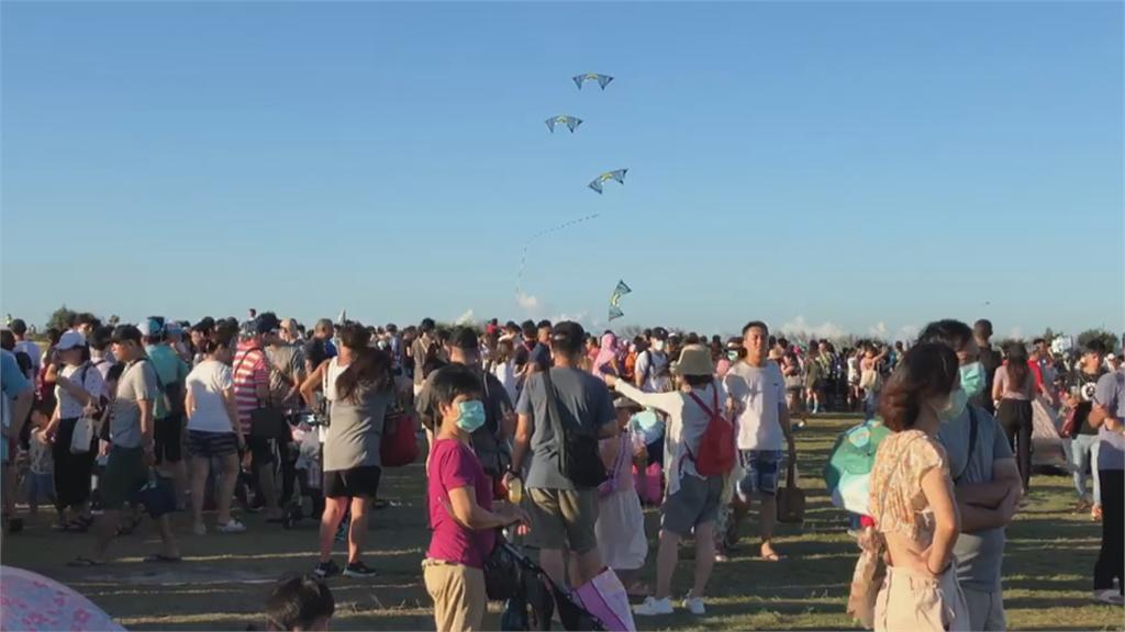 新竹風箏節「驚天動地30秒」  3歲女童遭拋飛7層樓高猛甩!
