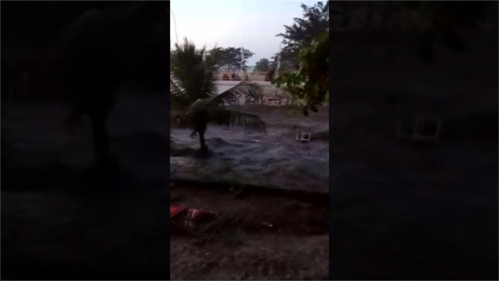 印尼強震已2千死 海嘯襲擊最新畫面曝光