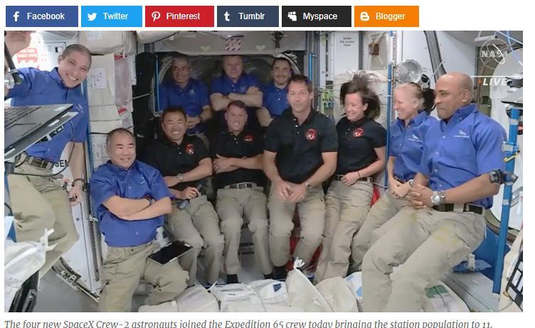 真有外星人?太空船與國際太空站成功對接 NASA證:不明物體接近
