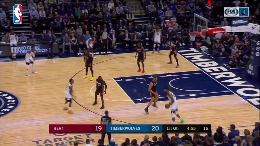 NBA/威金斯最後6分鐘得16分!灰狼開季3勝0敗