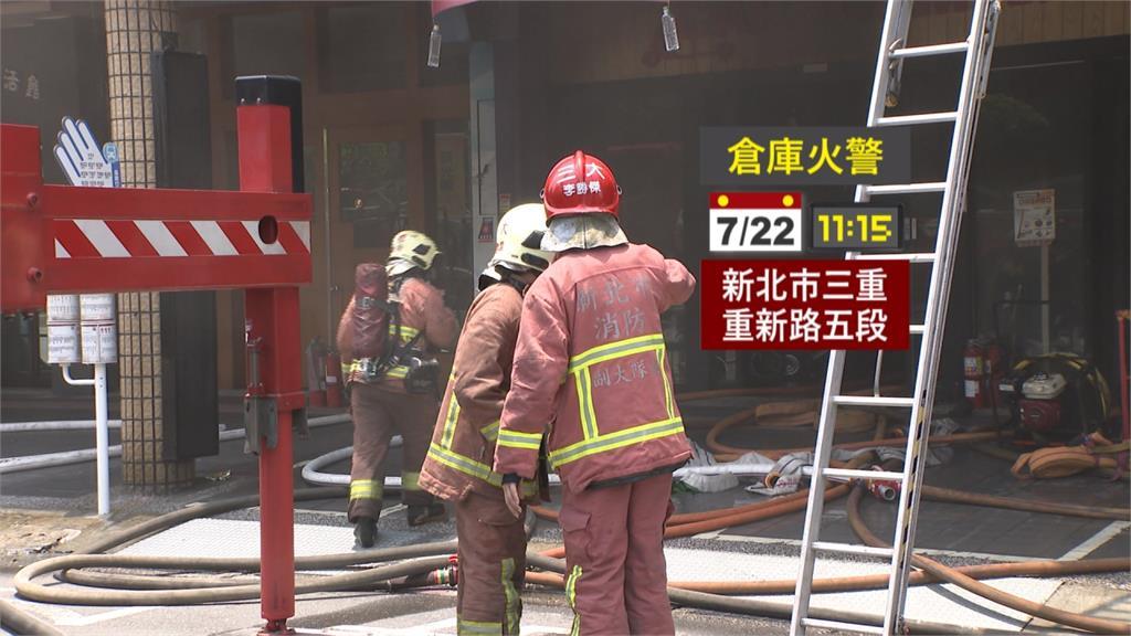 險!車行起火 三樓足球教室16童跳窗逃生