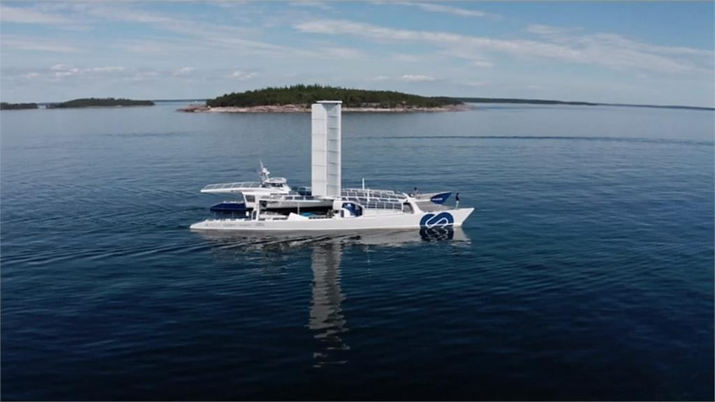 全球首艘氫電再生能源船 環保動力船新指標