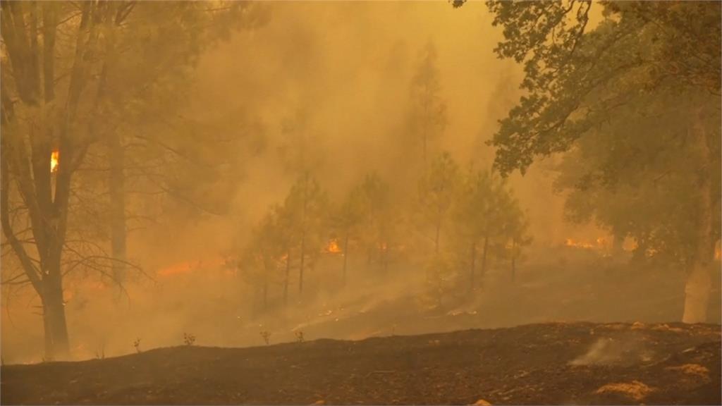 美國加州野火延燒 5死17失蹤