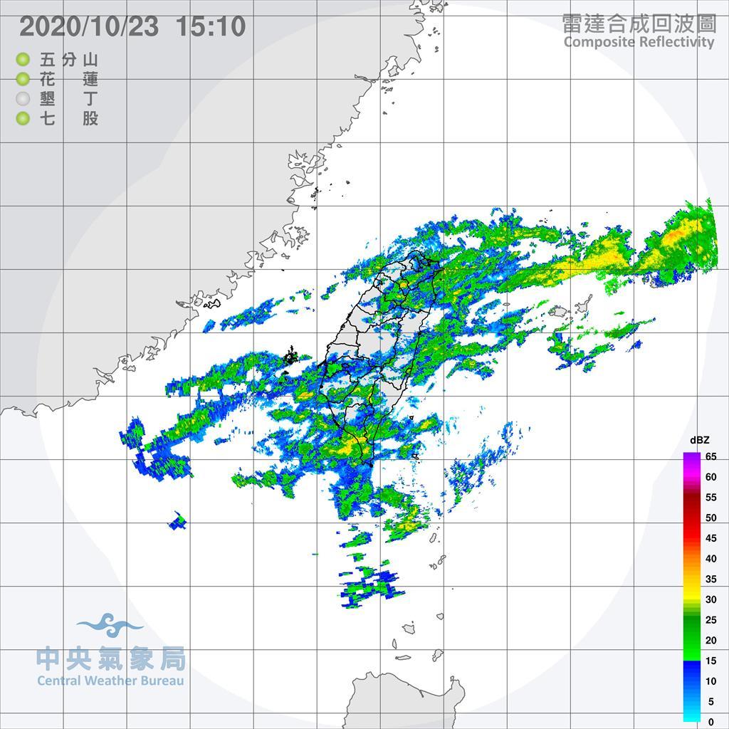 快新聞/東北季風及颱風外圍雲系影響 今明兩天較涼「降雨趨緩」
