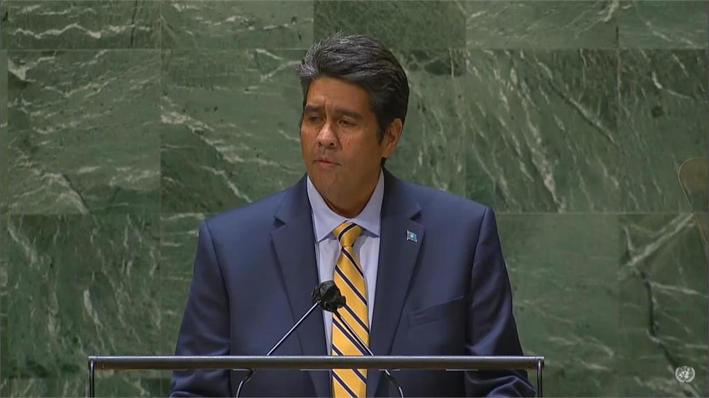 快新聞/帛琉總統聯大總辯論挺台!敦促聯合國讓台灣人民發聲