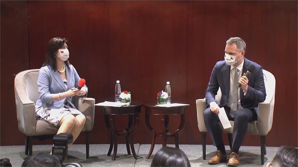 快新聞/來台參訪遭中國恐嚇 賀吉普不甩威脅:我們有權利決定跟誰見面