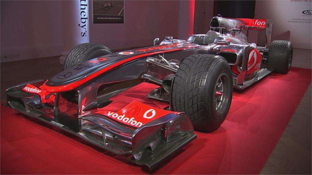 F1車神「神車」拍賣 舒馬克首賽座駕 逾4800萬台幣售出