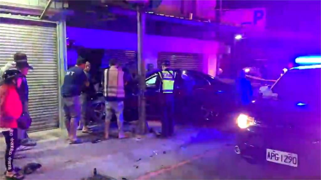 無照偷開父親車 18歲男子撞死重機騎士