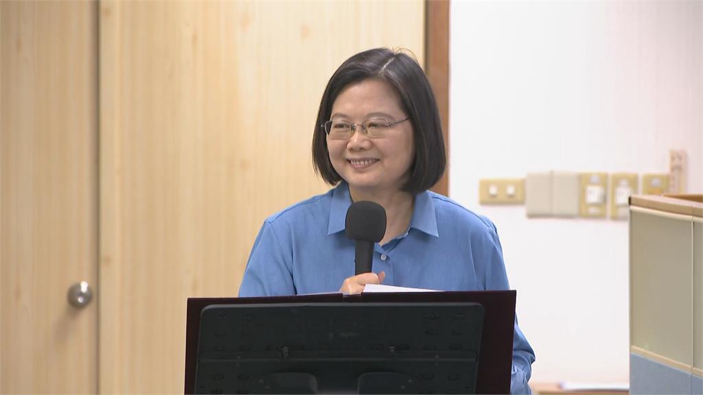 快新聞/民進黨修改內規強化原住民服務 蔡英文:有了感情就會有選票