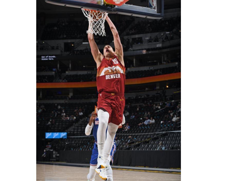 NBA/約基奇無法擋首節砍24分 金塊主場113比97勝尼克