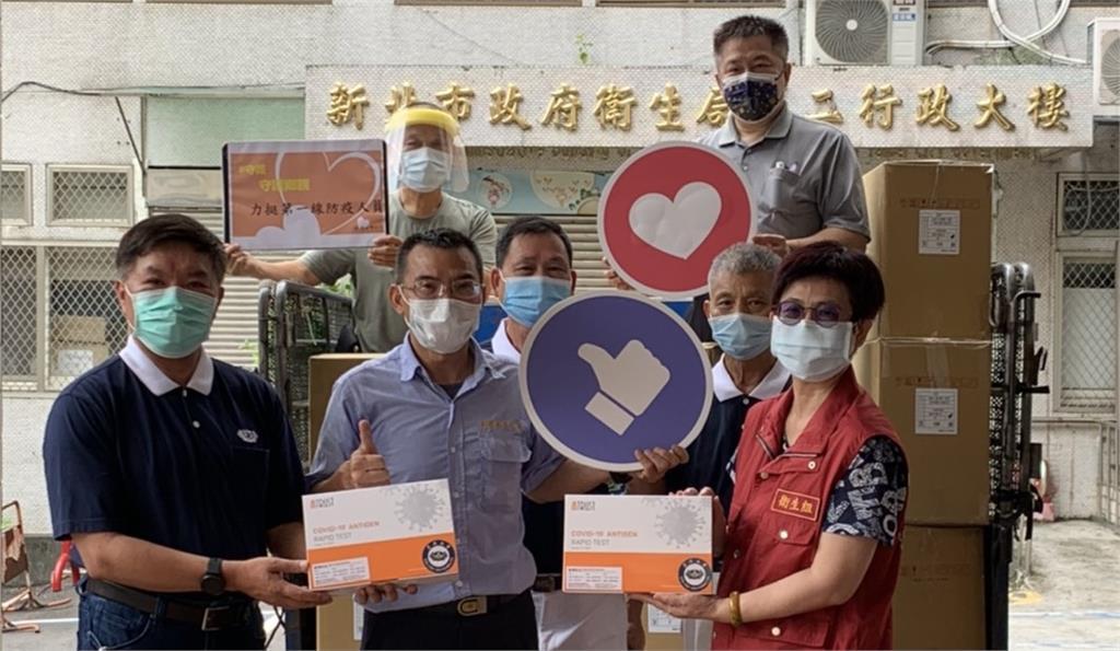本土疫情嚴峻協助縣市防疫篩檢 慈濟伸援手已提供超過27萬快篩試劑