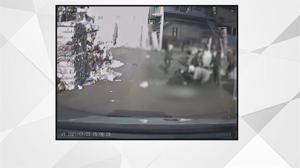 悲!女回收場遭堆高機輾斃 夫眼睜睜目睹妻身亡