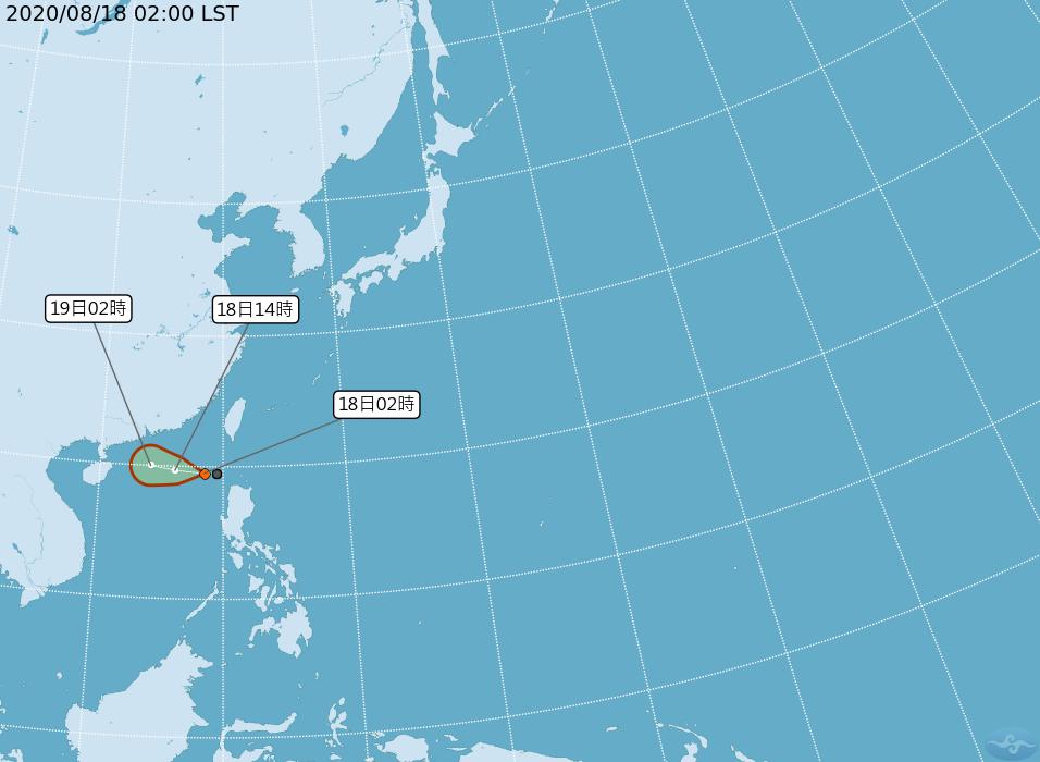 快新聞/第7號颱風「無花果」生成! 東部、南部防陣雨