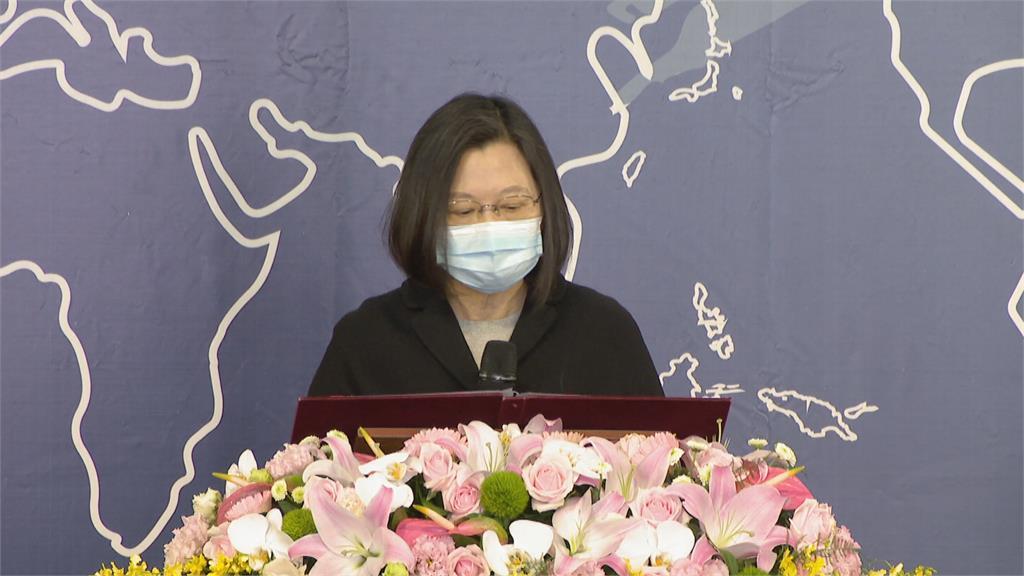 出席世界人權日典禮 蔡英文盼促進轉型正義