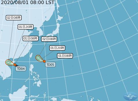 快新聞/又一熱低壓生成有機會成颱! 明起台灣附近海面風浪漸強