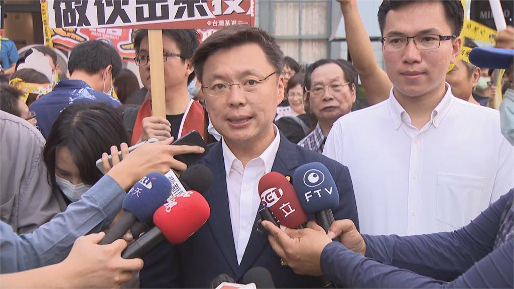 快新聞/民進黨高市黨部主委爭霸 趙天麟自行宣布當選