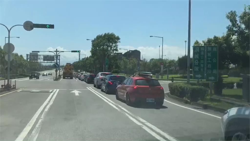 連假Day3! 林佳龍:考試中 北返車潮要來了!交通部嚴陣以待