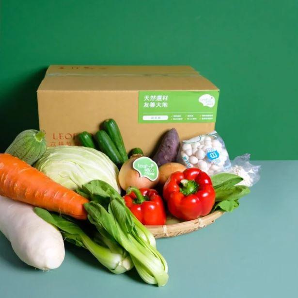 因應疫情衝擊 飯店及速食業者也開賣蔬菜箱