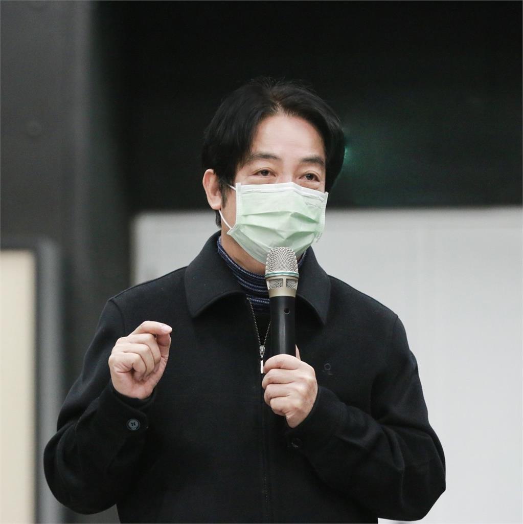 中共侵害新聞自由!香港蘋果日報將停刊 賴清德喊話:大家要頂住