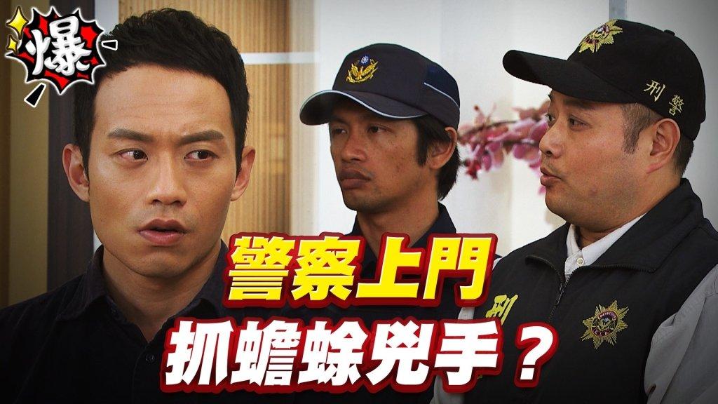 《多情城市-EP422精采片段》警察上門   抓蟾蜍兇手?