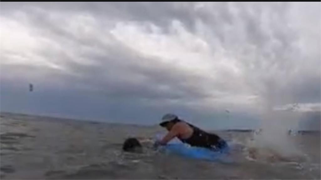 苗栗假日之森藏溺水危機 官方邀衝浪業聯合救生演練