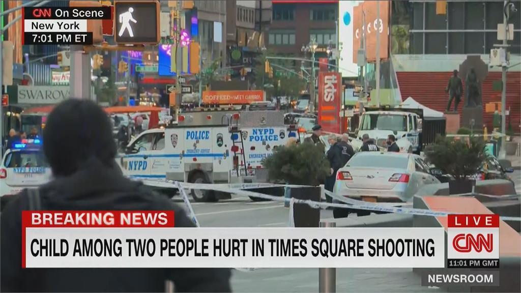 快新聞/紐約時報廣場傳槍響!含1名4歲女童在內釀3傷
