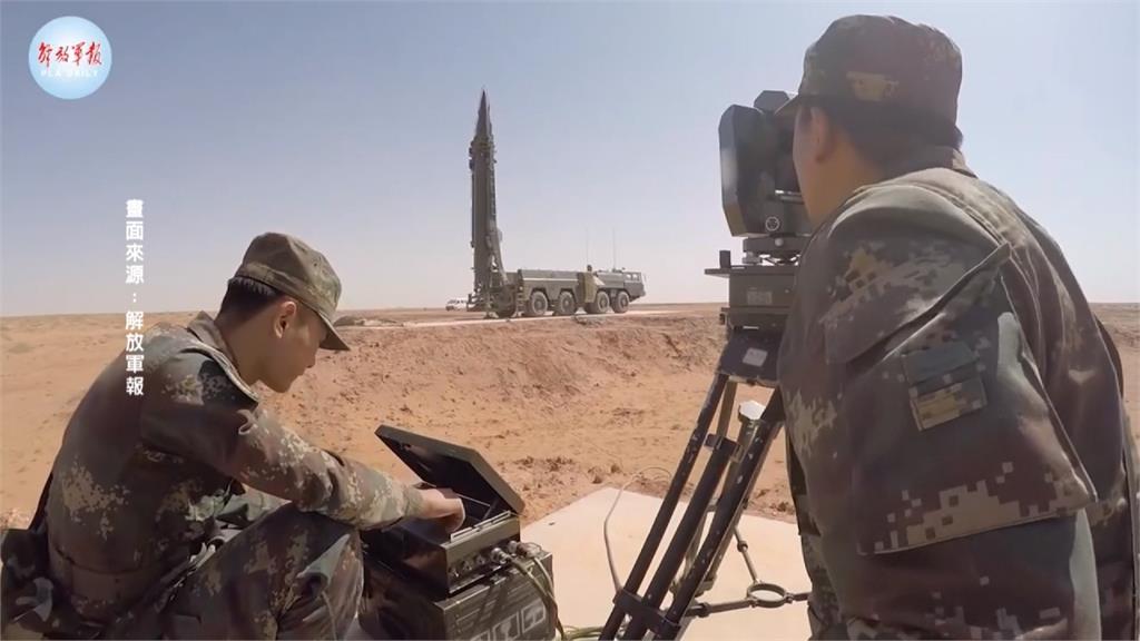 快新聞/擴張武力的前奏? 《紐時》揭露北京政府在荒蕪沙漠鑿110口核導彈發射井