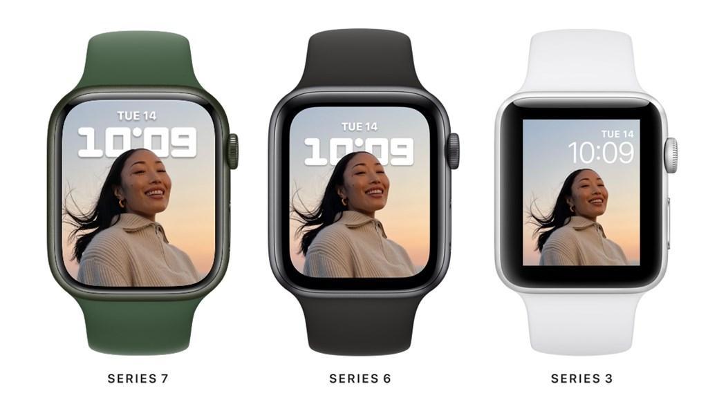 Apple Watch S7螢幕放大充電變快 史上最耐用