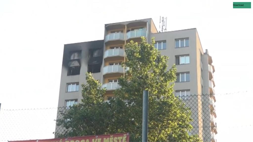 捷克住宅大樓疑遭縱火 至少11死10傷