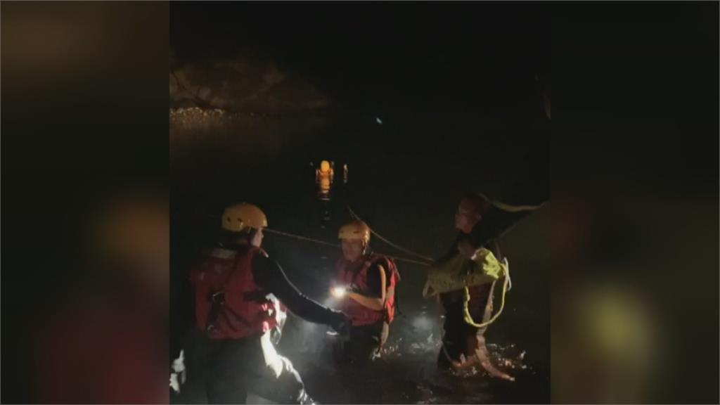 武界壩野溪又傳意外 部落村民釣魚溺斃