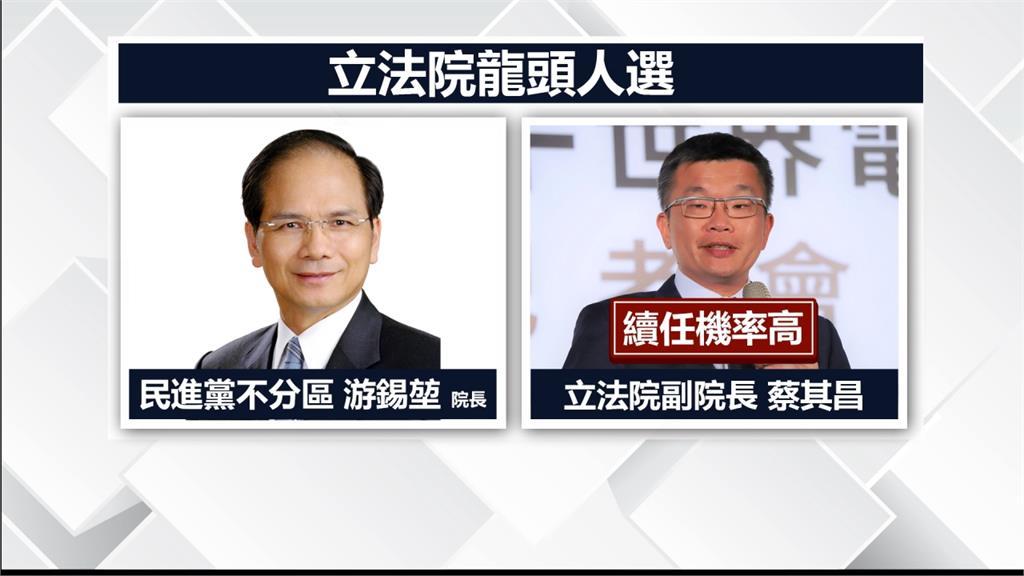 民進黨立委單獨過半!游錫堃可望成新國會龍頭