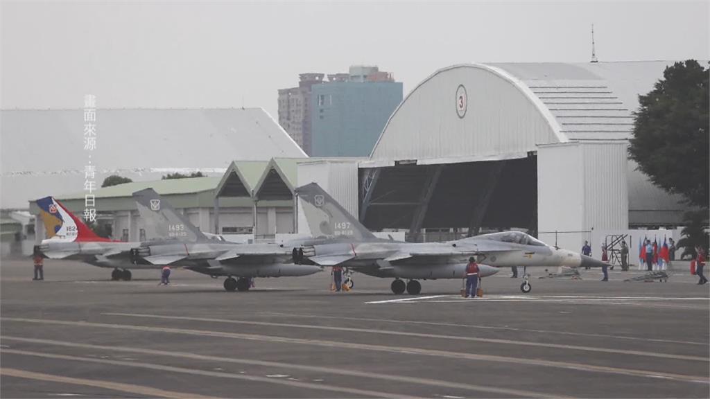 台南IDF戰機深夜升空民眾驚 空軍:例行巡邏