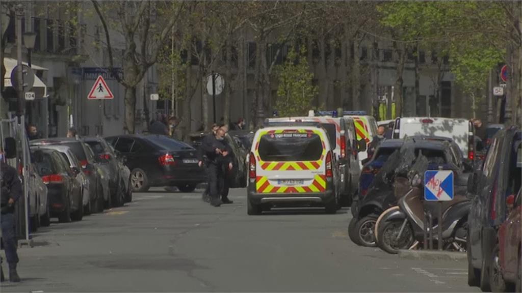 法國巴黎一醫院門口驚傳槍擊 至少1死1傷
