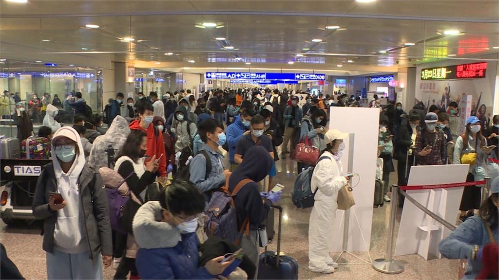 趕在禁令生效前來台灣轉機回中國 留學生:好幸運