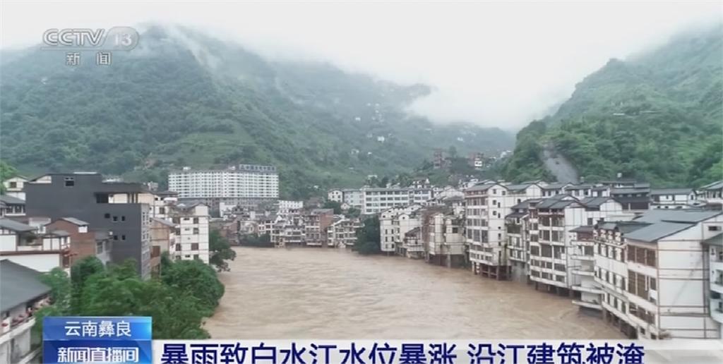 中國繼續淹 連30天暴雨預警