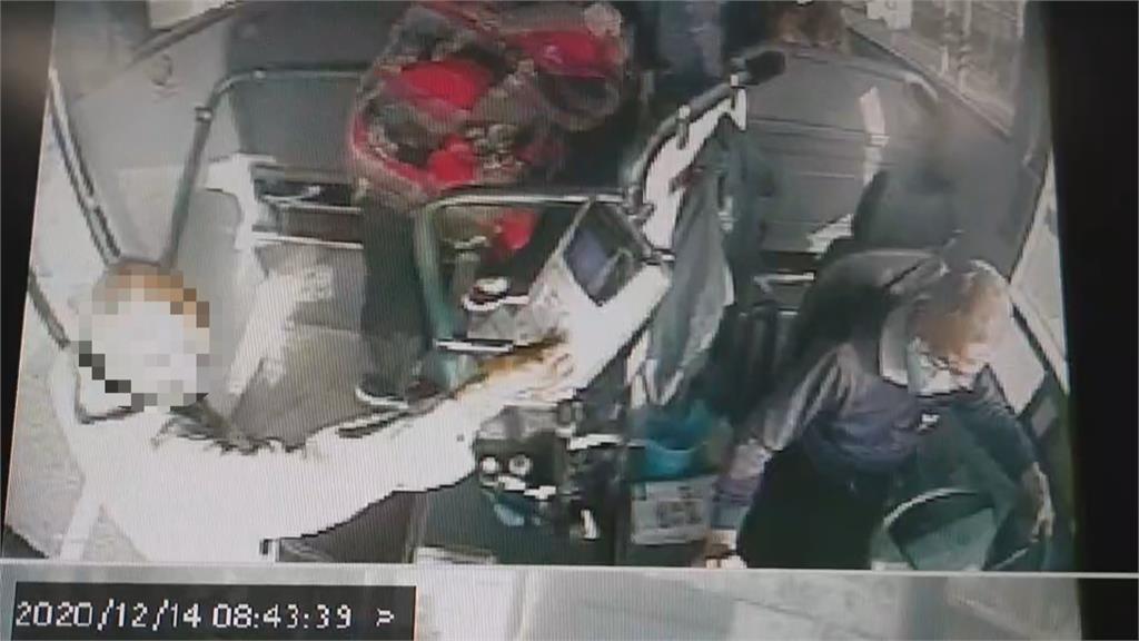 客運變成救護車!老翁搭車突昏迷 公車直接開到醫院急診室