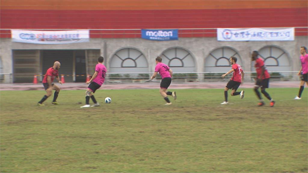 足球「台灣盃」最終戰開打! 30國移工同場競爭