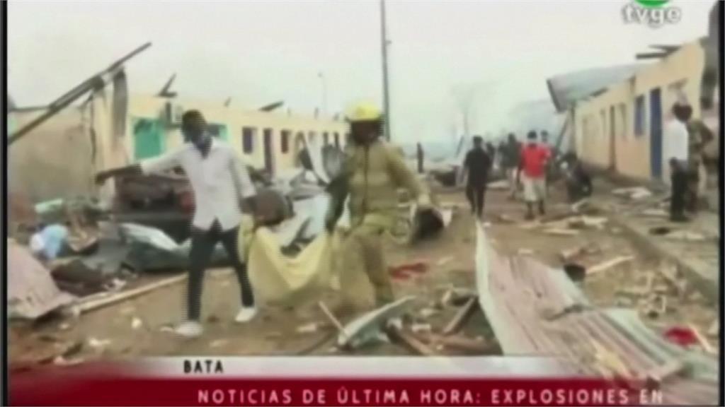 赤道幾內亞彈藥庫爆炸 至少20死600傷