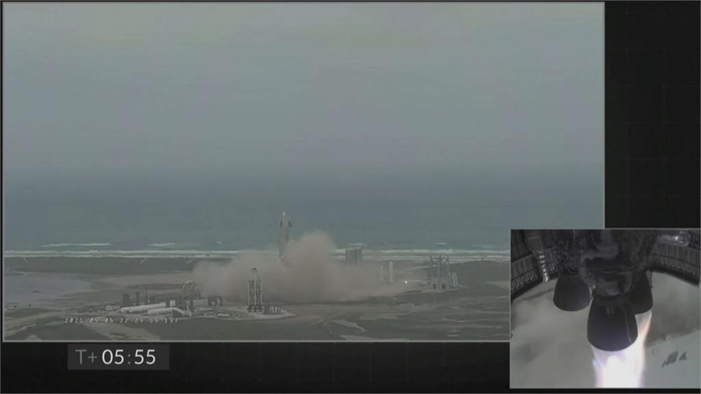 SpaceX星艦 「序號15」 首度高空飛行測試成功!