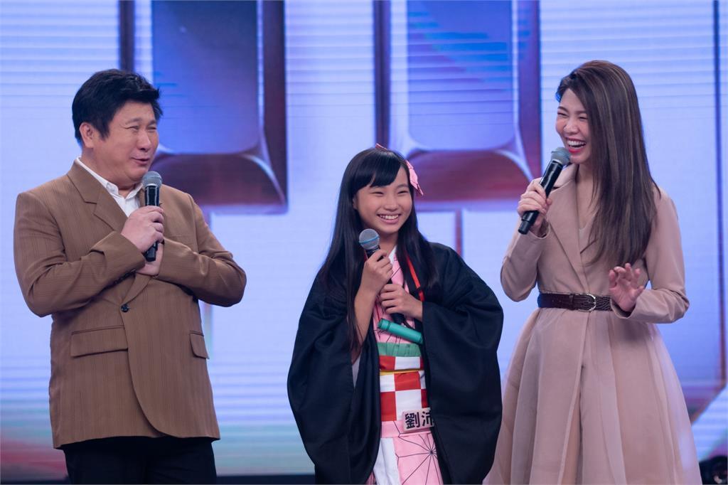 《台灣那麼旺》劉沛琪打扮「鬼滅之刃」主角的妹妹「禰豆子」!當紅動漫風靡全場