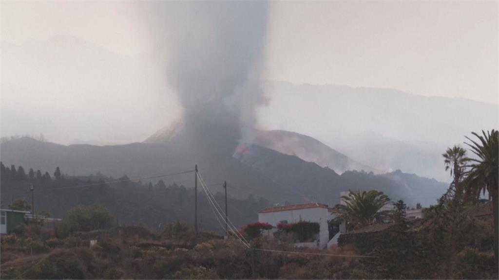 西國火山爆發又地震 岩漿吞教堂懸崖崩塌