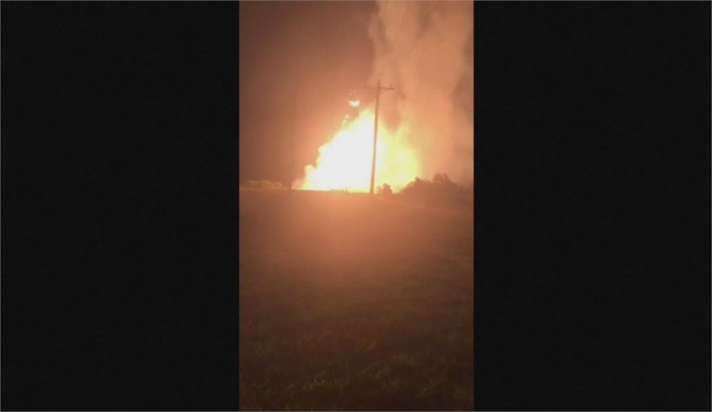 天然氣管線大爆炸 奧克拉荷馬疏散居民