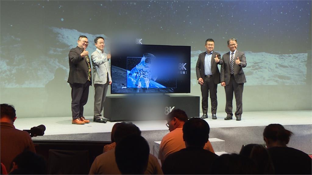 搶攻高畫質!3C電子大廠紛推大尺寸「8K電視」