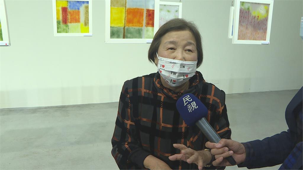 台灣輸血醫學之母林媽利 義賣作品供輸血研究