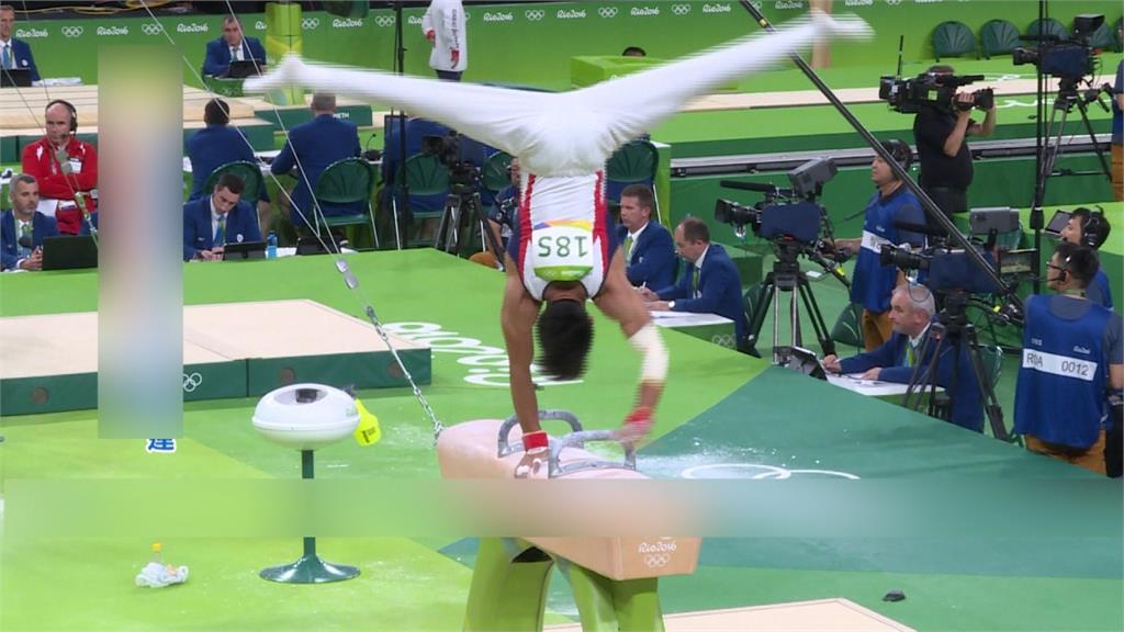 湯瑪斯迴旋橫掃國際賽場 李智凱翻出台灣體操路