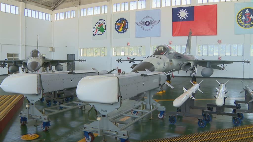蔡總統視察澎湖空防第一線  喊話「別讓別人在自己領空上耀武揚威」